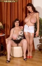 Merilyn And Jelena A Flogging Fine Time