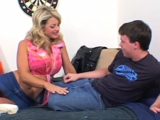 Mom Banged By College Room mate Of Her Son