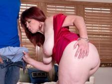 Heather's Ass Meets Rock hard Cock