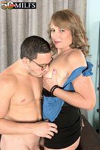 Catrina shags her finest friend's son