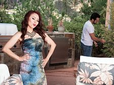 Red-hot MILF Claudia acquires ass-fucked by the gardener