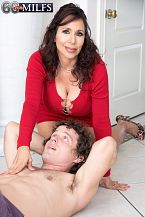 A recent 60Plus HORNY HOUSEWIFE who's short 'n' stacked